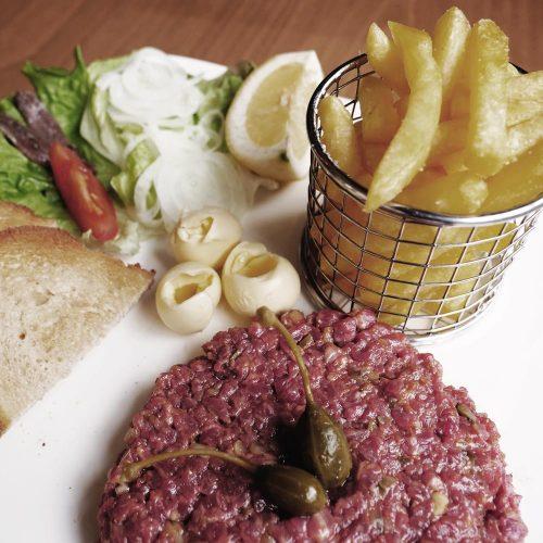 Bistro 33 - Restaurant à Commugny - tartare de boeuf